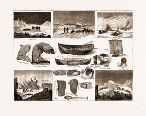 THE ARCTIC EXPEDITION: APPARATUS, ETC., TO BE USED BY THE EXPLORERS, 1875