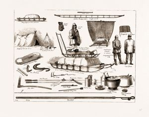 THE ARCTIC EXPEDITION: APPARATUS TO BE USED BY THE EXPLORERS, 1875