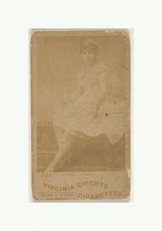 Card 544, Lillie Howard, from the Actors and Actresses series (N45, Type 6) for Virginia