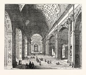 Central Nave of St. Peter's, Rome
