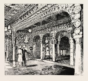 CHINI KHUNA, CHINA-ROOM, AT SIR SALAR JUNG'S PALACE, Prince Albert Victor at