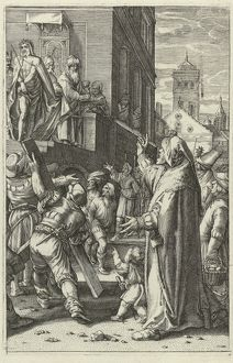 Christ Presented to the People (Ecce Gay), Anonymous, Hendrick Goltzius, 1596 - 1667