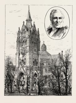 THE COMPLETION OF UNION CHAPEL, ISLINGTON, LONDON, UK, 1889