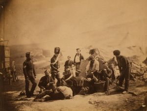 Cooking house, 8th Hussars, Crimean War, 1853-1856, Roger Fenton historic war campaign