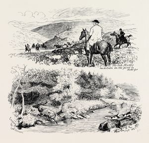 A DEER HUNT ON EXMOOR