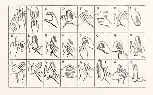 The Double-handed Alphabet