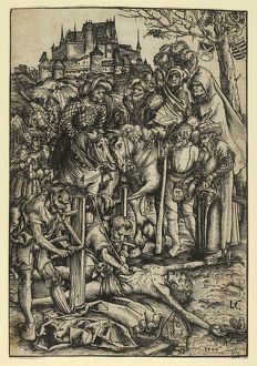 Drawings and Prints, Print, The Martyrdom of St. Erasmus, Artist, Lucas Cranach the Elder