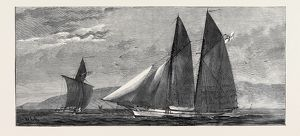 THE EAST AFRICAN SLAVE TRADE, BRITISH SLAVE CRUISING YACHTS ORDERED ON SPECIAL SERVICE