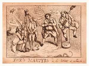 Fox's martyrs or The patriots in limbo, [England : Publisher not named, March 1784]
