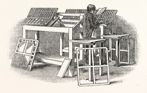 Frames, Cases, to be used in the process of printing