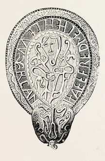 JEWEL OF ALFRED THE GREAT FOUND IN THE ISLAND OF ATHELNEY