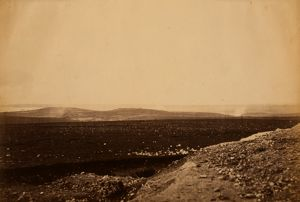 The Mamelon & the Malakof from the front of the mortar batteries, Crimean War, 1853-1856