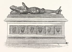 Monument of Edward the Black Prince in Canterbury Cathedral