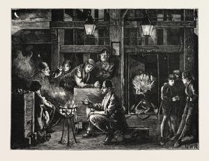 PITS AND PITMEN: THE NIGHT SHIFT, 1871; MINERS