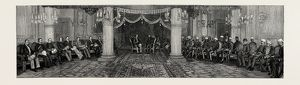 Prince Albert Victor in India: a Durbar at Chon Mahela Palace, Hyderabad, 1889