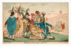 Property protected--a la Francoise, British satire of Franco-American relations after