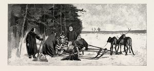 Reindeer trip in Northern Siberia a voyage from Kara Sea to the Obi 1889. The Kara Sea