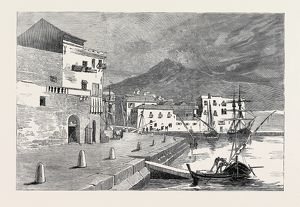 ROUND THE WORLD YACHTING IN THE 'CEYLON'; PALERMO