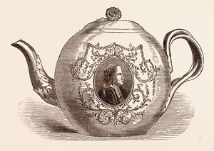 TEAPOT PRESENTED TO THE REV. JOHN WESLEY; BORN JUNE 17, 1703. An Anglican cleric