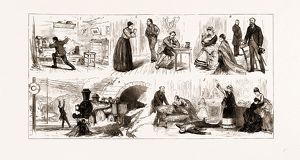 THE TICHBORNE CASE IN PARIS, FRANCE, 1875, SCENES FROM 'L'AFFAIRE COVERLEY&quot