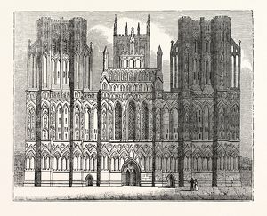West Front of the Cathedral of Wells